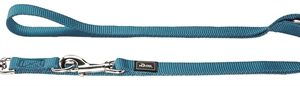 Hunter trainingslijn nylon turquoise