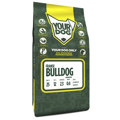 Yourdog franse bulldog senior