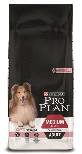 Pro plan dog adult medium sensitive skin