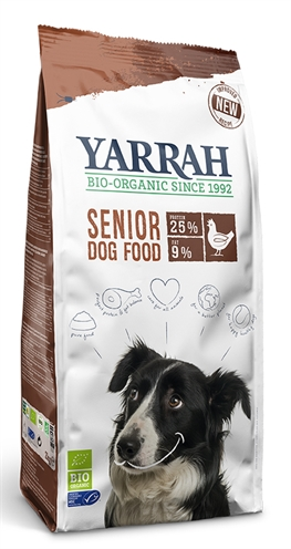 Yarrah dog biologische brokken senior