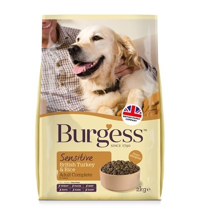 Burgess dog sensitive kalkoen / rijst