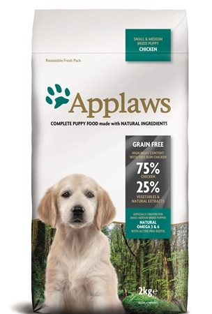 Applaws dog puppy small / medium chicken