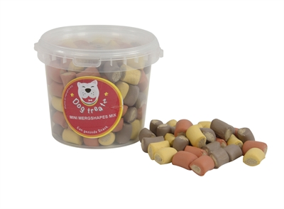 Dog treatz mini mergshapes mix