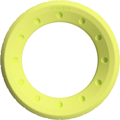 Foaber roll ring foam / rubber groen