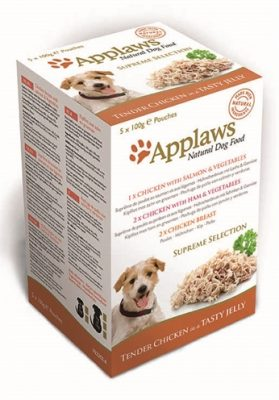 Applaws dog pouches multipack jelly supreme