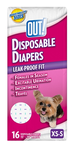Out! disposable diapers
