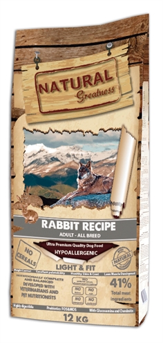 Natural greatness rabbit light & fit recipe