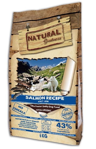 Natural greatness salmon sensitive mini