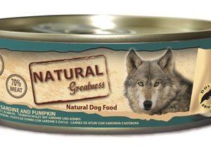 Natural greatness tuna fillet / sardine