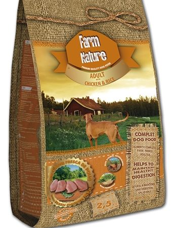 Farm nature chicken / rice