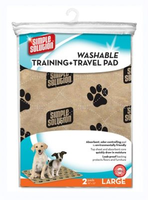 Simple solution wasbare puppy training pads