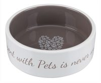 Trixie voerbak pets home taupe