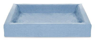 Bia bed cotton overtrek hondenmand blauw