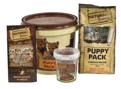 Natural greatness puppy pack chicken recipe