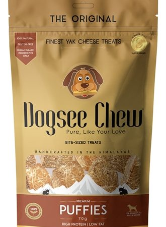Dogsee chew puffies