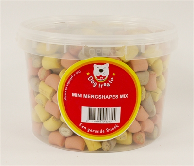 Dog treatz mini merg shapes