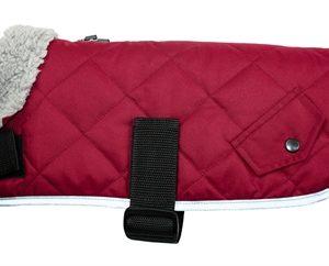 Go walk hondenjas quilted comfort cranberry rood