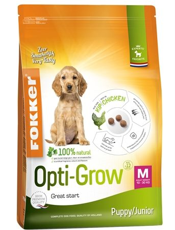 Fokker opti-grow puppy / junior medium
