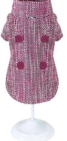 Croci hondenjas pinky tweed roze