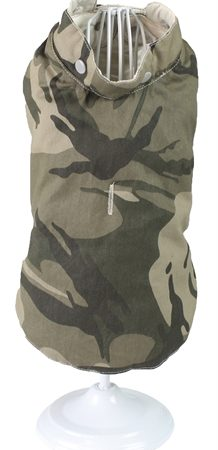 Croci hondenjas luke tweezijdig creme / camouflage