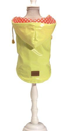 Croci hondenjas regenjas raindrop lemon geel