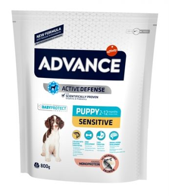 Advance puppy sensitive