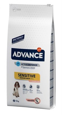 Advance sensitive salmon / rice