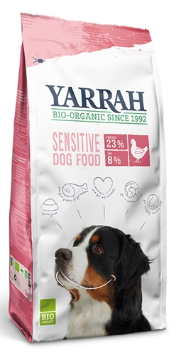 Yarrah dog biologische brokken sensitive kip